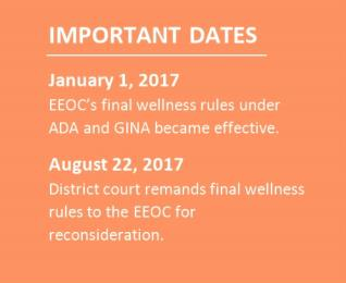 Court Orders EEOC to Evaluate Wellness Rules