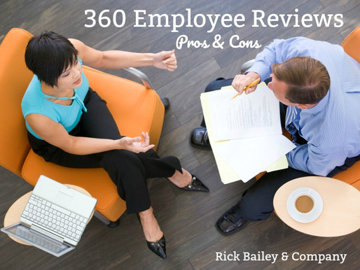 Pros and Cons of 360 Employee Reviews