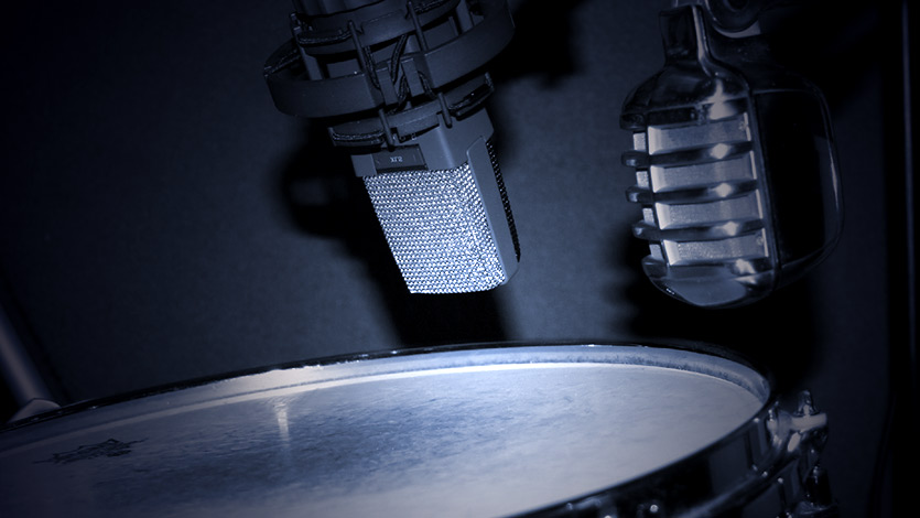 Mics on Snare, Snare samples