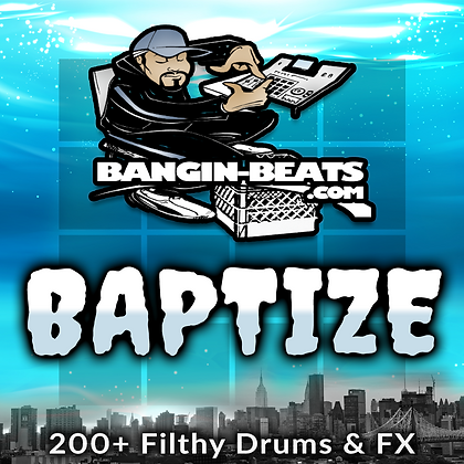 BAPTIZE Compilation - Akai MPC Expansion, 227 Sounds