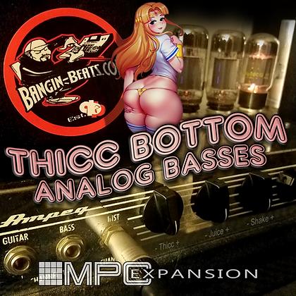 Thicc Bottom Analog Basses - Akai MPC Expansion