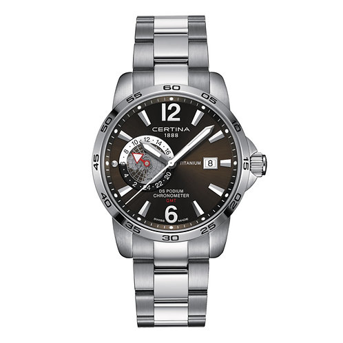 Certina DS Podium Chronometer GMT Quarz