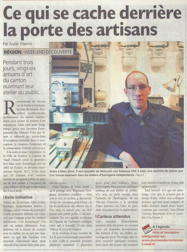 Article - Journal de Morges