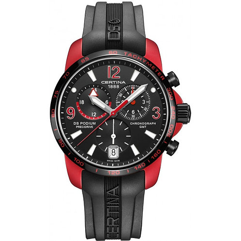 Certina DS Podium Chronograph Quarz GMT