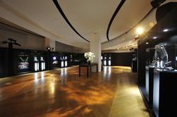 2015「匠心.獨具」時間藝術展的展場一隅。