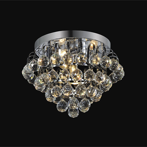 4 Light Crystal Flush mount;