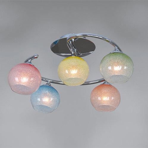 5 Light Ceiling mount