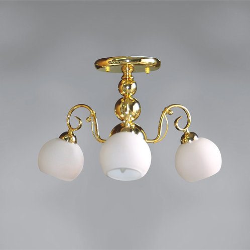 3 Light Ceiling Mount,