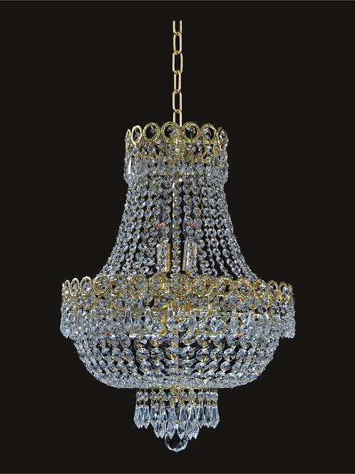 8 Lt crystal chandelier