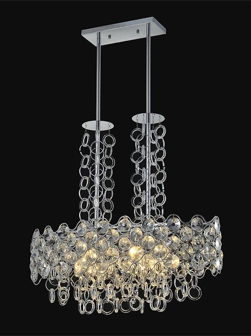 12 Light Crystal Pendant Chandelier