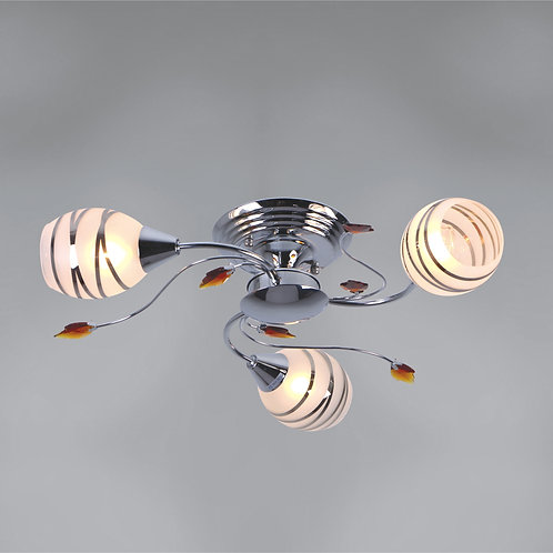 3 Light Flushmount