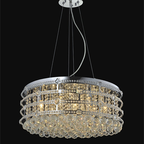 12 Light Crystal Pendant Chandelier,