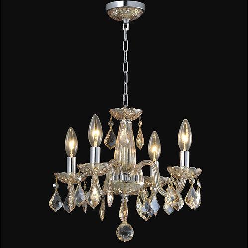 4 Light Crystal  chandelier,