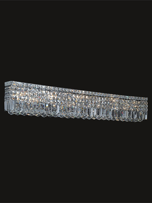 10 Lt crystal wall sconce
