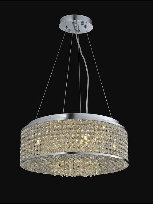 8 Light Crystal Pendant