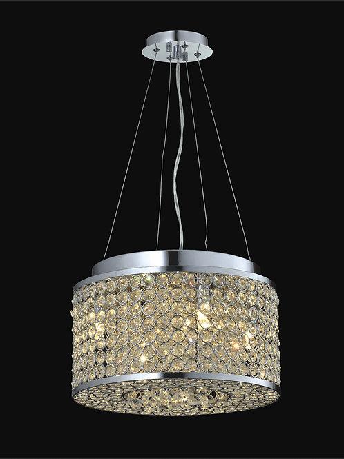 4 Light Crystal Pendant,