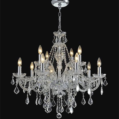 12 Light Crystal  chandelier,