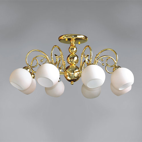 8 Light Ceiling Mount,