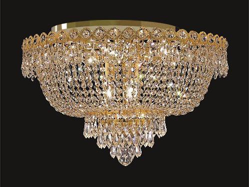 8 Lt crystal chandelier