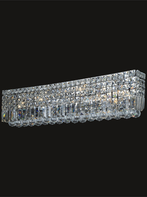 7 Lt crystal wall sconce
