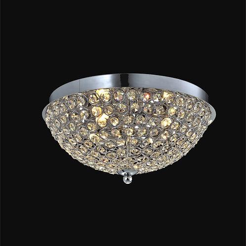 4 Light Crystal Ceiling Mount