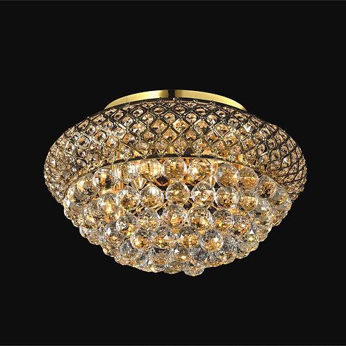 8 Light Crystal Flushmount,