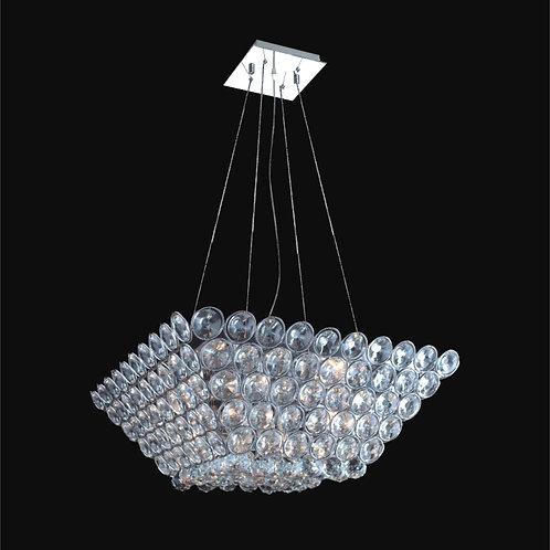 9 Light Crystal Pendant Chandelier,