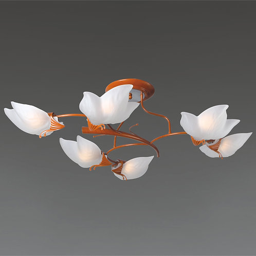 6 Light Ceiling Mount,