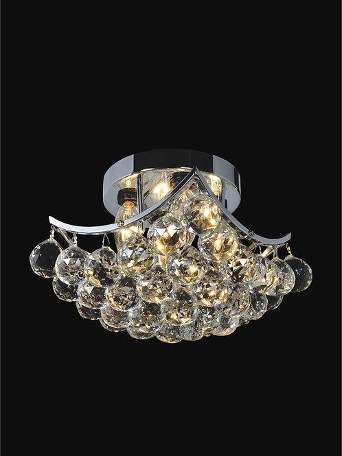 4 Light Crystal Ceiling mount,