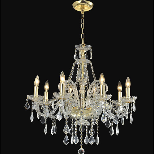 8 Light Crystal  chandelier,