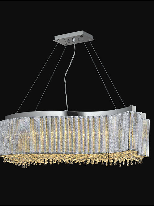 16 Light Crystal Pendant