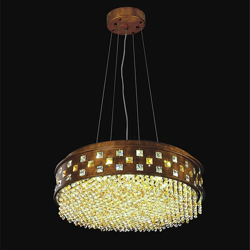 16 Light Crystal LED  Pendant