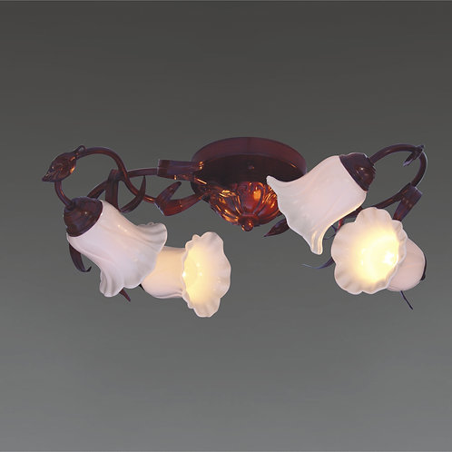 4 Light Ceiling Mount,