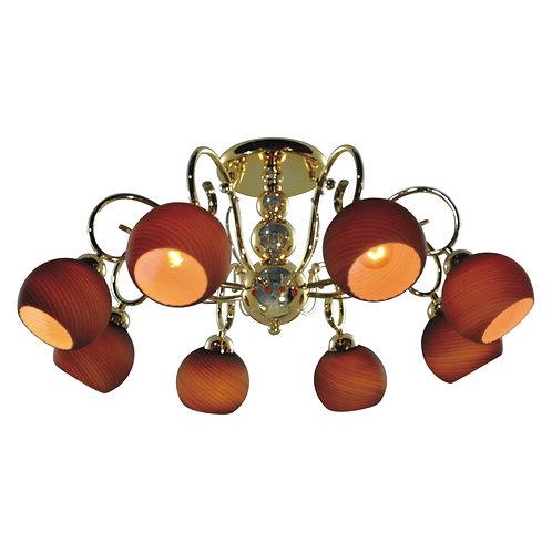 8 Light Ceiling mount