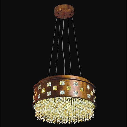 11 Light Crystal LED Pendant,