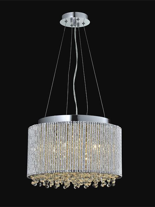 4 Light Crystal Pendant