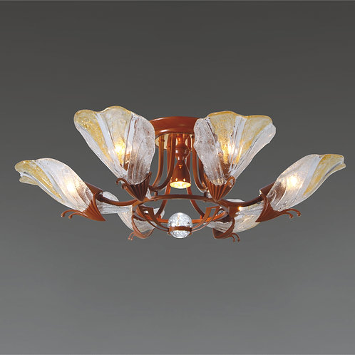 7 Light Ceiling Mount,