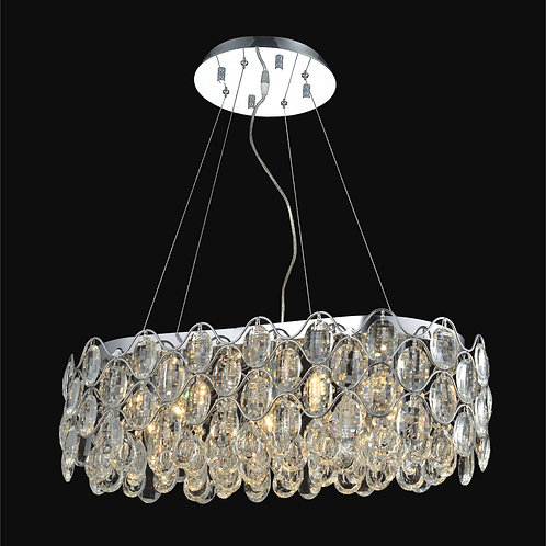 7 Light Crystal Pendant Chandelier,