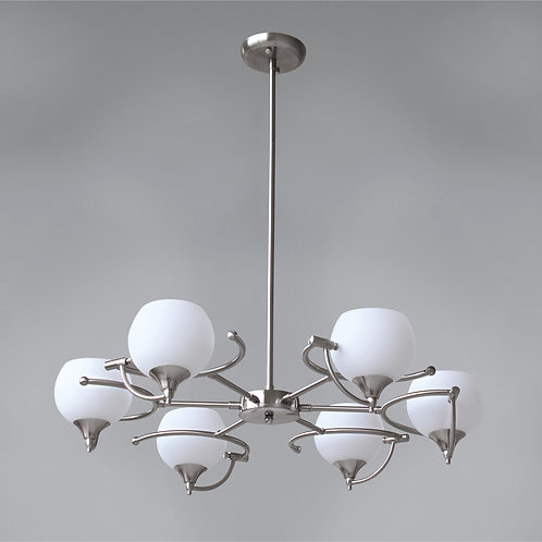 6 Light Pendant,