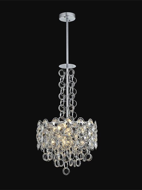 6 Light Crystal Pendant Chandelier,