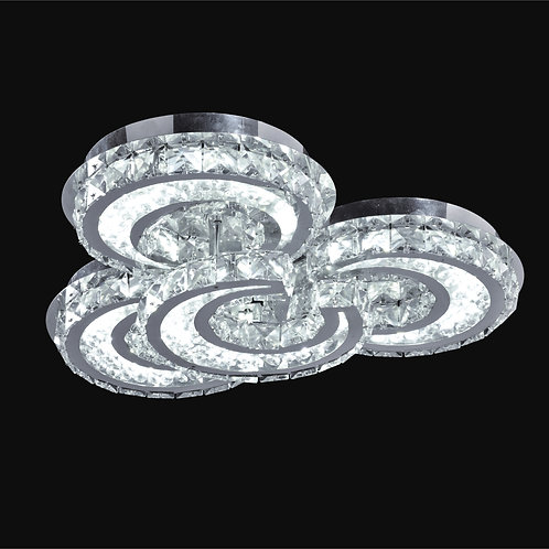 3+1 Light LED Crystal Ceiling Mount