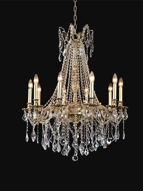 10 Light Crystal Chandelier