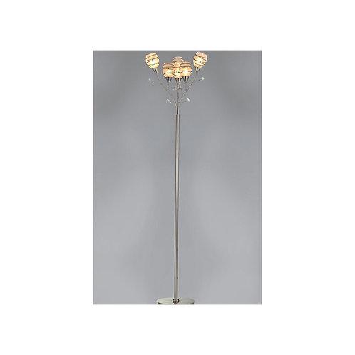 6 Light Floor Lamp