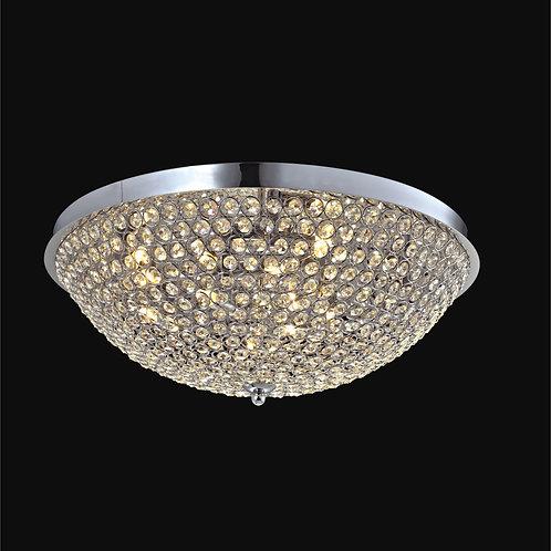 8 Light Crystal Ceiling Mount,