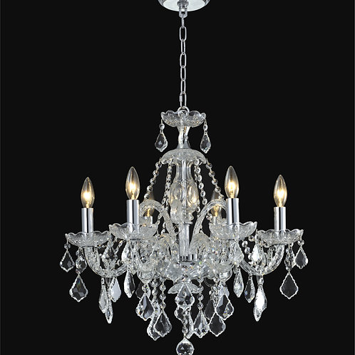 6 Light Crystal  chandelier,r