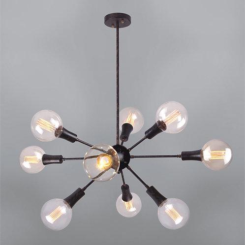 9 Light Pendant,