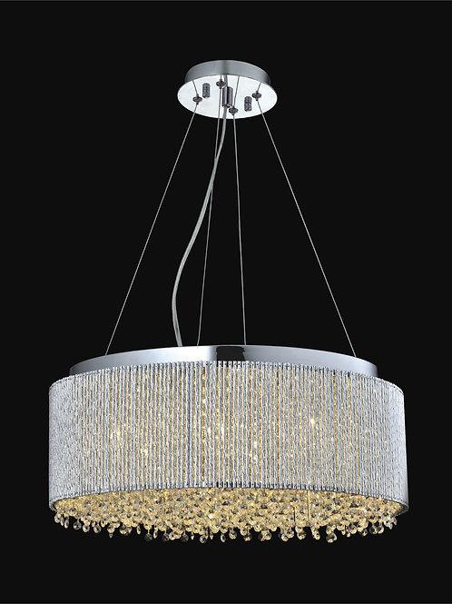10 Light Crystal Pendant