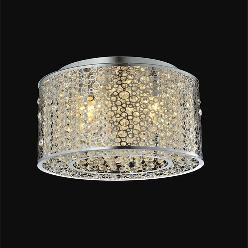 4 Light Crystal Ceiling Mount,