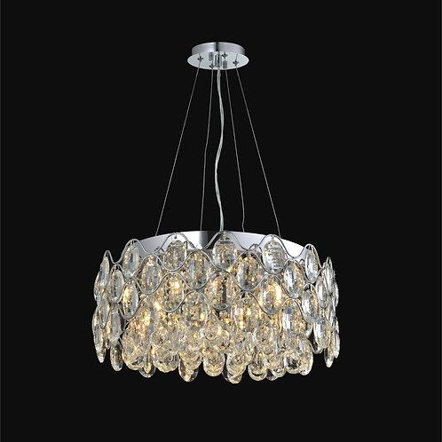 8 Light Crystal Pendant Chandelier,