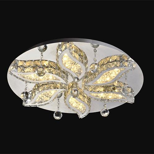 4+1 Light LED Crystal Ceiling Mount